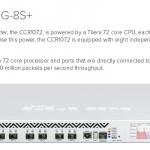 [ニュース] CCR1072-1G-8S+の情報について