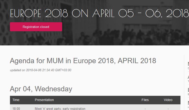 [新製品] MUM Europe 2018で報告された新製品について