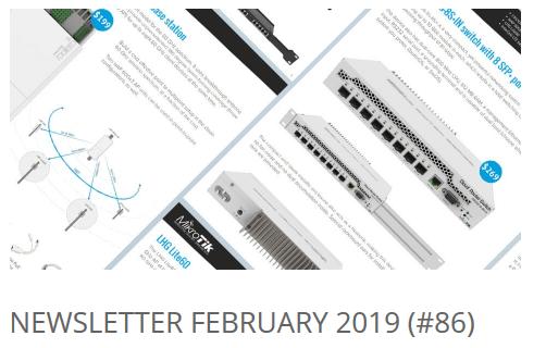 Newsletter February 2019 (#86)